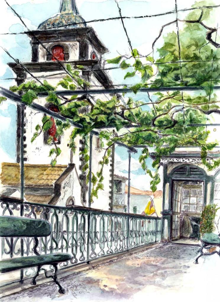 Dr l mr l jardin de la casa freiras for Casa de jardin varca goa